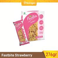 Prosana Fastbite Sereal Bar Tinggi Serat (Box Isi 12 pcs) Strawberry