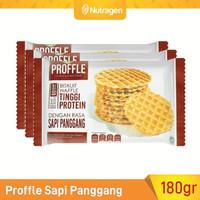 Prosana Proffle High Protein Waffle Sapi Panggang isi 3 @60gr