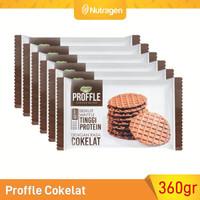 Prosana Proffle High Protein Waffle Cokelat isi 6 @60gr