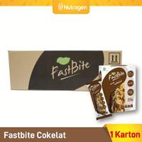 Prosana Fastbite Sereal Bar Tinggi Serat (6 Box x 12 pcs) Coklat
