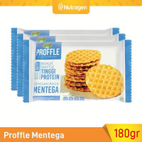 Prosana Proffle High Protein Waffle Mentega isi 3 @60gr