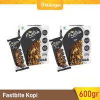 Prosana Fastbite Sereal Bar Tinggi Serat (2 Box x 12 pcs) Kopi