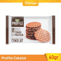 Prosana Proffle High Protein Waffle Cokelat 60gr