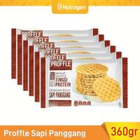 Prosana Proffle High Protein Waffle Sapi Panggang isi 6 @60gr