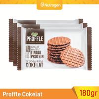 Prosana Proffle High Protein Waffle Cokelat isi 3 @60gr