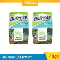 GoFress Permen Tipis Penyegar Nafas (Spearmint) isi 2