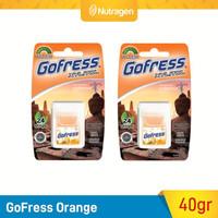 GoFress Permen Tipis Penyegar Nafas (Orange) 2pcs