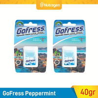 GoFress Permen Tipis Penyegar Nafas (Peppermint) 2pcs