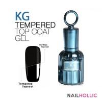 Tempered top coat gel / gel polish / kutek gel / nail art