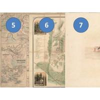 Kertas Scrapbook - Old Maps 5-7_FFH19 Design