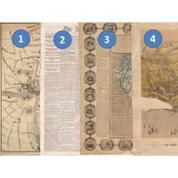 Kertas Scrapbook - Old Maps 1-4_FFH19 Design