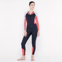 CoreNation Active Upton Fullbody Swimsuit - Black