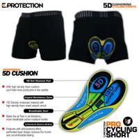 Celana sepeda Padding Gel Eprotection