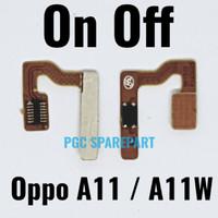 Original Flexible Connector Power On Off Oppo Joy 3 A11 A11W Fleksibel