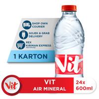 VIT Air Mineral 600ml (24 botol)