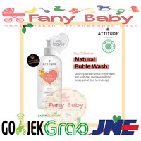 ATTITUDE Baby Leaves Natural Buble Wash (473ml)