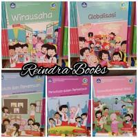 Buku Tematik kelas 6 tema 1-5 revisi 2018