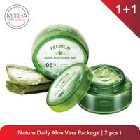 MISSHA Nature Daily Aloe Vera Package (2 pcs)