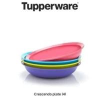 Crescendo Plate (4) Piring Tupperware