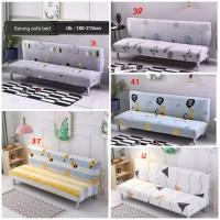 Sarung Sofa Bed / Kain Alas Sofa Bed / Cover Sofa Uk : 180 cm - 210 cm