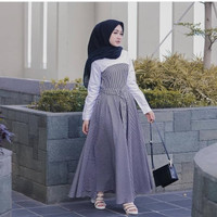 Dress muslim wanita | plummete dress | fashion wanita murah
