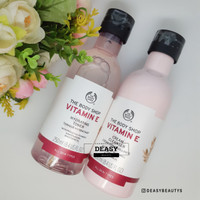 (SHARE IN) The Body Shop Vitamin E Hydrating Toner Clean Clenser