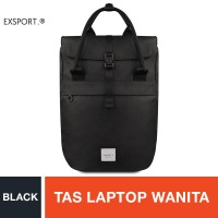 Exsport Glance Laptop Backpack - Black