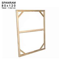 SPANRAM Frame Rangka Kayu 80x120 cm