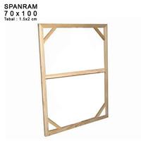 SPANRAM Frame Rangka Kayu 70x100 cm