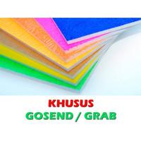 Styrofoam Guppy 60x40x1 cm KHUSUS GOSEND/GRAB
