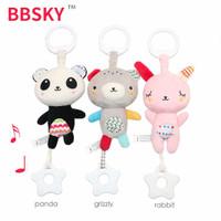 BBSKY Hanging Music Toy & Teether - Mainan Bayi