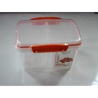 Storage Klip To Keep Tempat Penyimpanan Microwave 1200ml- Hawaii 8405