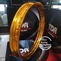 Velg TDR W Shape 17 x 215 Gold