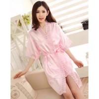 Kimono Baju Tidur Satin Import / Pakaian Dalam Wanita /Lingerie