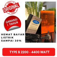 Alat Penghemat Listrik Pak Bambang Original 2200 - 4400 VA