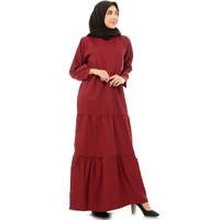 Alana Maxi Dress Gamis Gaun Wanita