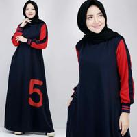 Five Dress Gamis Maxi Combed