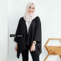 Outer Kimono polos wanita / Cardigan Muslim Wanita