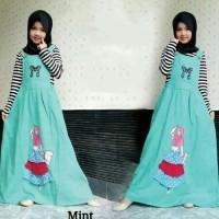 Jumpsuit anak muslim / Setelan Baju muslim karakter