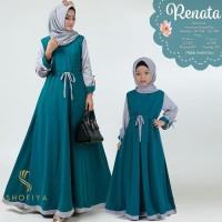 Gamis Couple Muslim / Renata Dress Couple Ibu dan anak
