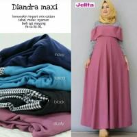 Diandra Maxi Dress Gamis Wanita