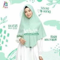 Khimar Syari SOFURA jilbab Afra khimar jumbo model penguin pet antem h