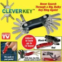 TERBATAS Clever Key / Cleverkey Tempat Organizer Kunci Lipat As Seen