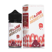 USA - JAM MONSTER - PB Peanut Butter Strawberry - 100ml - Vape Liquid
