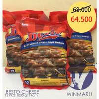 BESTO Bratwurst sosis Cheese1000gr