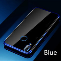 Redmi Note 7 Shiny Transparen Bening Ultra Thin TPU Soft Case 1624