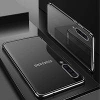 Samsung A50 Shiny Transparen Bening Ultra Thin TPU Soft Case 1620