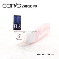 Copic Various Ink / Copic Refill E01 Pink Flamingo ( CVI )