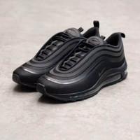 Nike Air Max 97 Ultra Triple Black 918356-002 - Hitam, 43