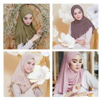 Pleated Hijab MS18 Impor Jilbab Plisket / Pashmina Cutton Scarf Syal